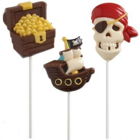 Molde Lollipop Piratas