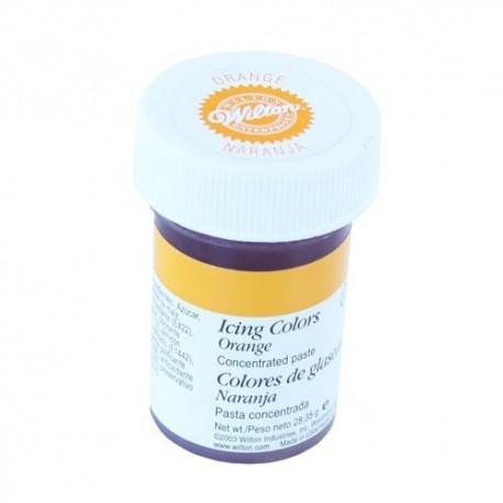 Colorante para glaseado Wilton. Color Naranja
