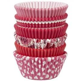 Cápsulas cupcakes San Valentín. 150 uds