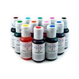 Colorantes en gel Americolor. Set de 12 colores