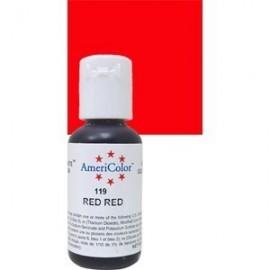 Colorante en gel Americolor. Color Rojo