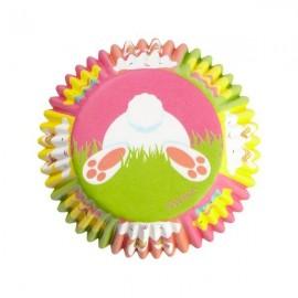 Cápsulas cupcakes Conejito. 75 uds