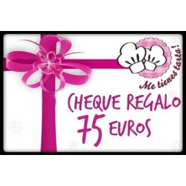 Cheque regalo 75 euros