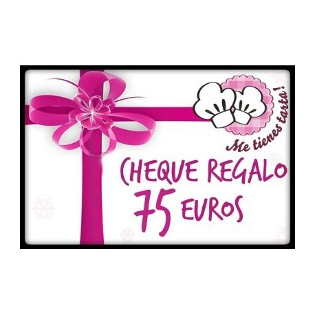 Cheque regalo 75 euros