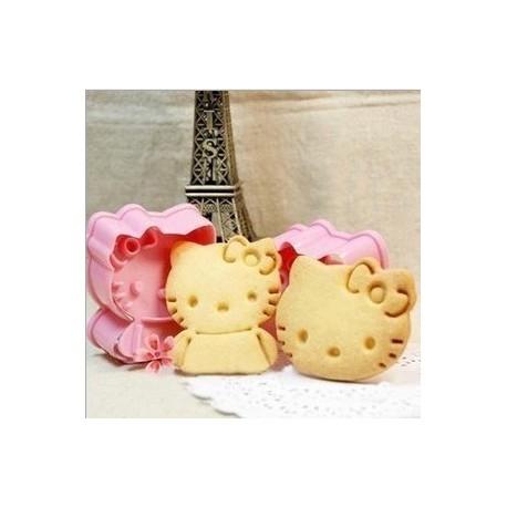 Cortadores Hello Kitty con marcador. Set de 2