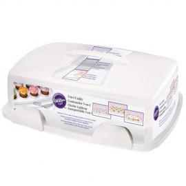 Transportador de tartas o cupcakes