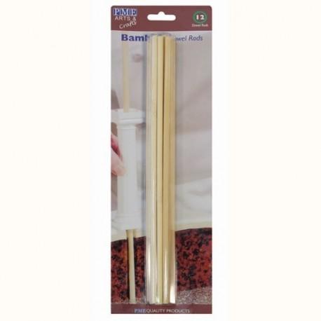 Palillos de Bambú. 12 uds
