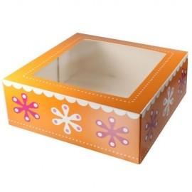 Caja Flores para tartas 26 cm. Unidad