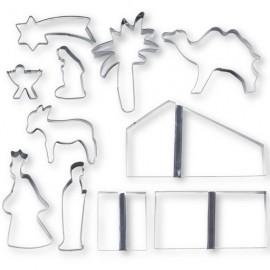 Cortadores Portal de Belen. 11 piezas