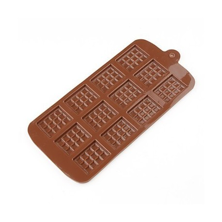 Molde para mini tabletas de chocolate