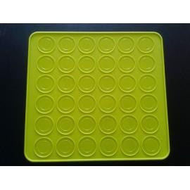 Tapete de silicona para macarons