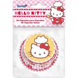 Cápsulas cupcakes Hello Kitty. 60 uds