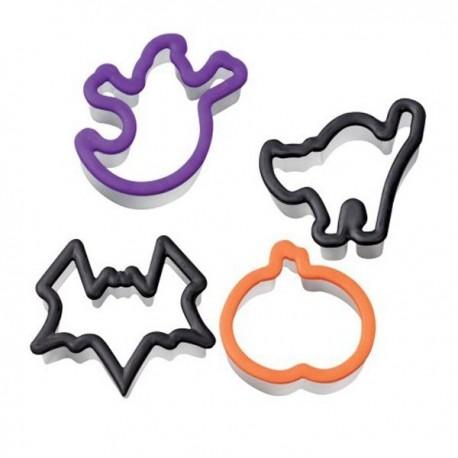 Cortadores ergonómicos Halloween. Set de 4