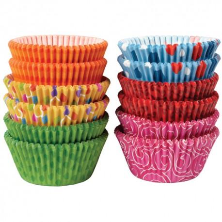 Cápsulas cupcakes Pastel. 60 uds