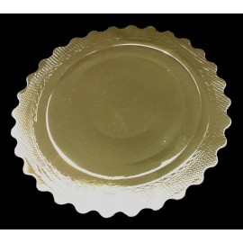 Base ondulada para tartas Oro 28 cm