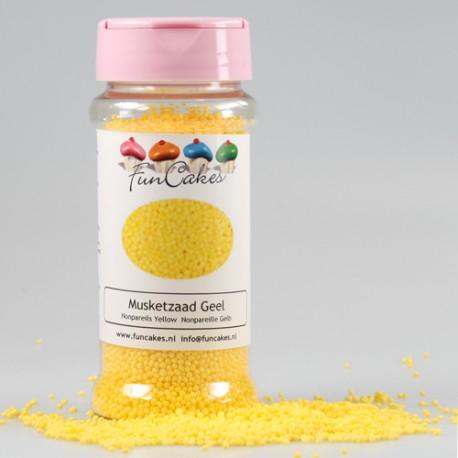 Nonpareils color Amarillo