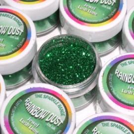 Brillantina decorativa color Verde oscuro
