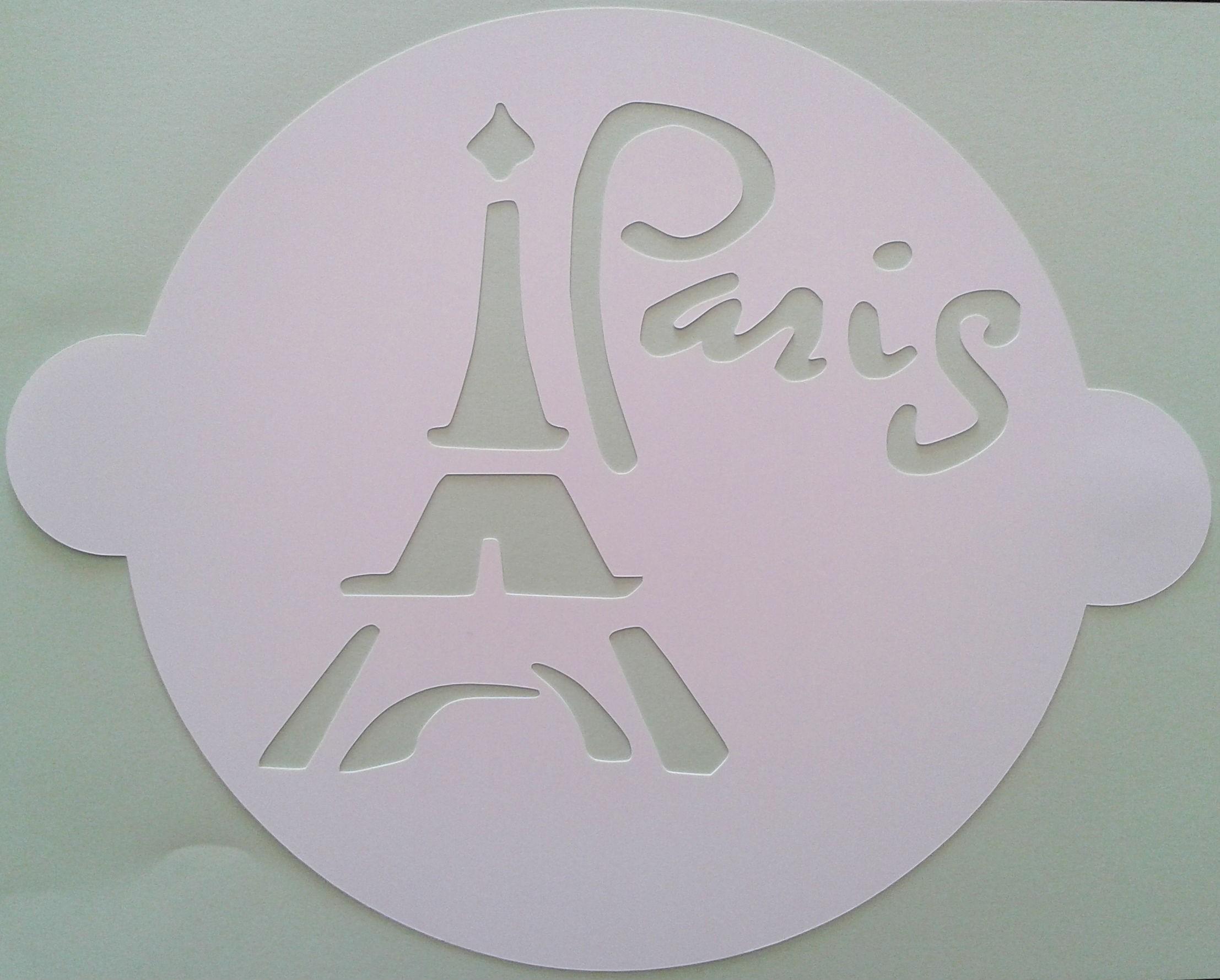 Comprar Plantilla Paris para tartas online