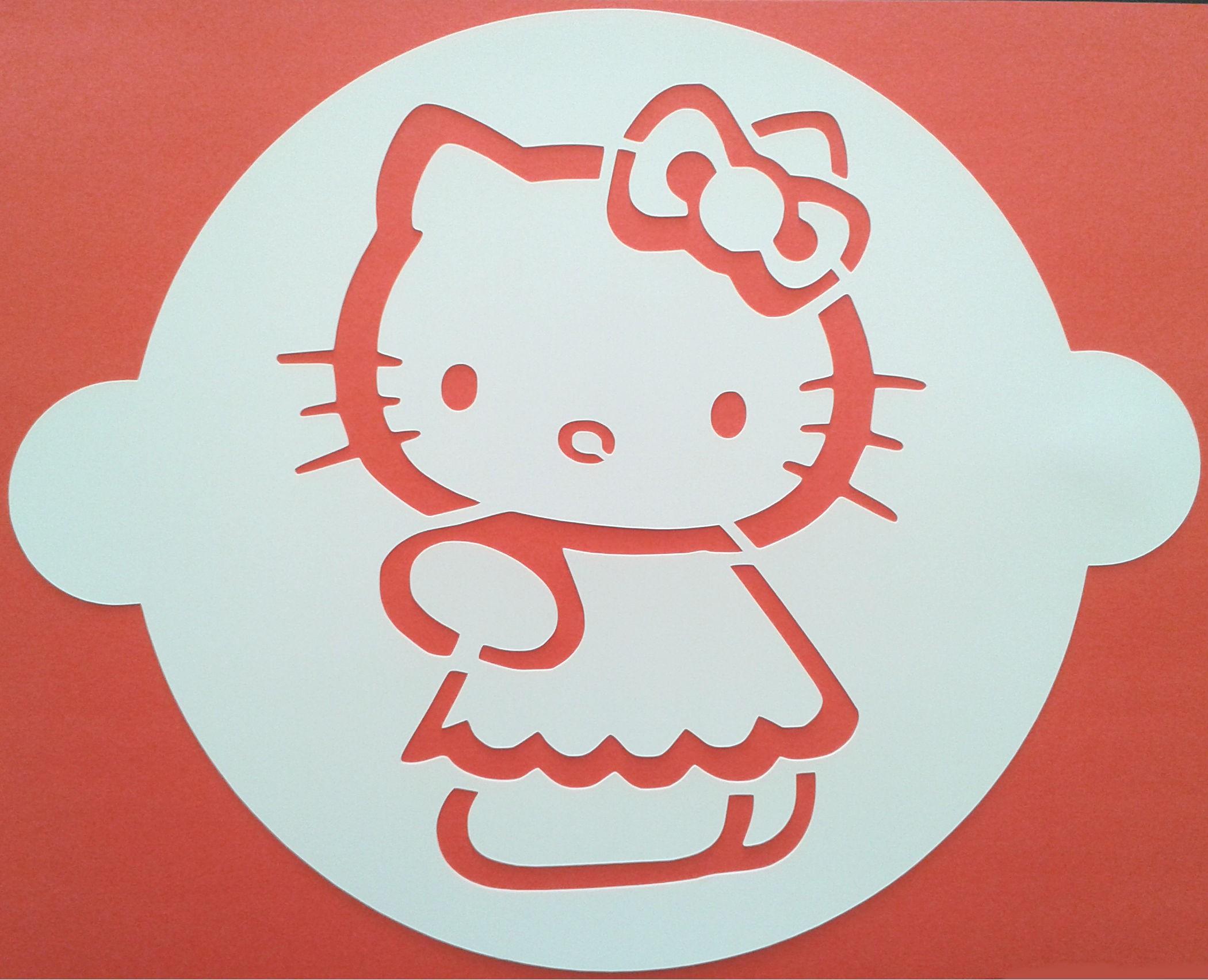 Comprar Plantilla Hello Kitty para tartas online