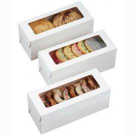 Cajas blancas para galletas. Set de 3