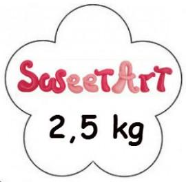 Fondant SweetArt Blanco 2,5 kg