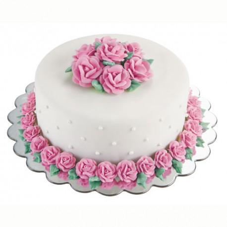 Base redonda para tartas Ondas 30 cm