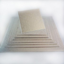 Base cuadrada para tartas 20x20 cm