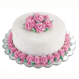 Base redonda para tartas Ondas 35 cm