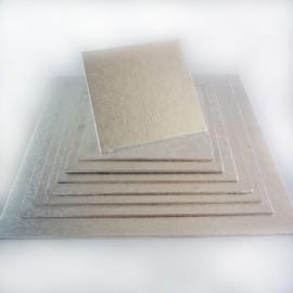 Base cuadrada para tartas 25x25 cm