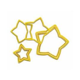 Cortadores Estrellas. Set de 6