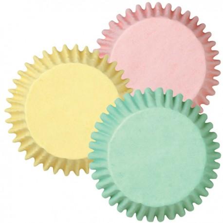 Cápsulas mini cupcakes Pastel. 100 uds