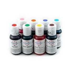 Colorantes en gel Americolor. Set de 8 colores
