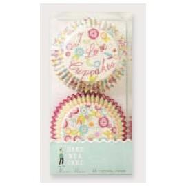Cápsulas cupcakes I love cupcakes. 48 uds