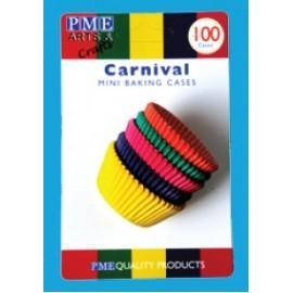 Cápsulas mini cupcakes Carnival. 100 uds