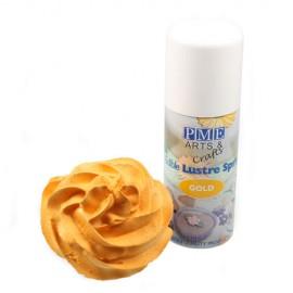 Colorante en spray de PME. Color Dorado