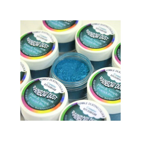 Colorante en polvo Rainbow Dust. Color azul