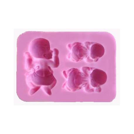 Molde de silicona Rosas