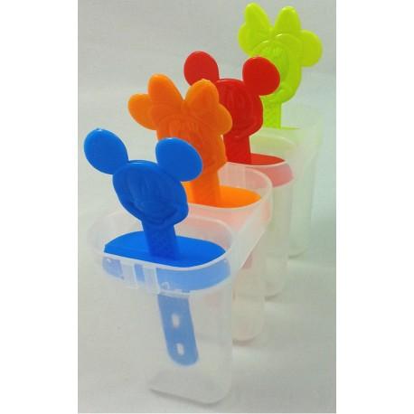 Molde para helados de Mickey y Minnie