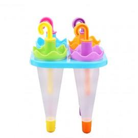 Molde para helados con forma de paraguas