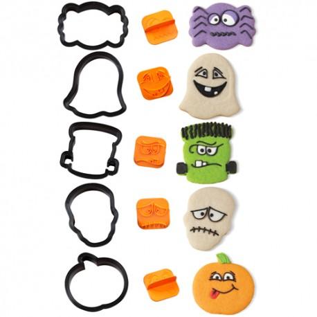 Cortadores con marcador para Caras. Set de 10 piezas