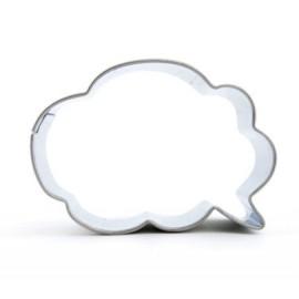 Cortador Bocadillo Cómic Nube