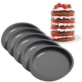 Moldes Layer Cake. 5 piezas
