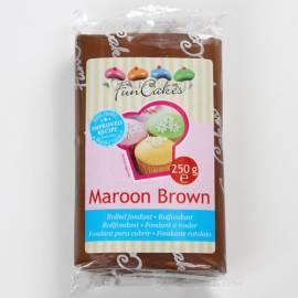 Fondant Funcakes Marrón 250 gr
