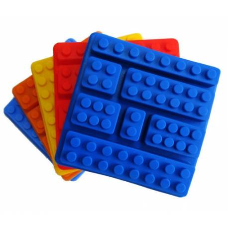 Molde de silicona Piezas Lego