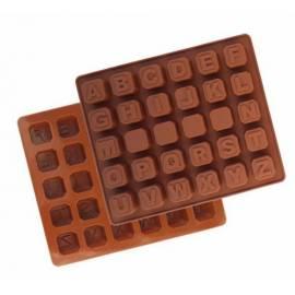 Molde para Letras de chocolate