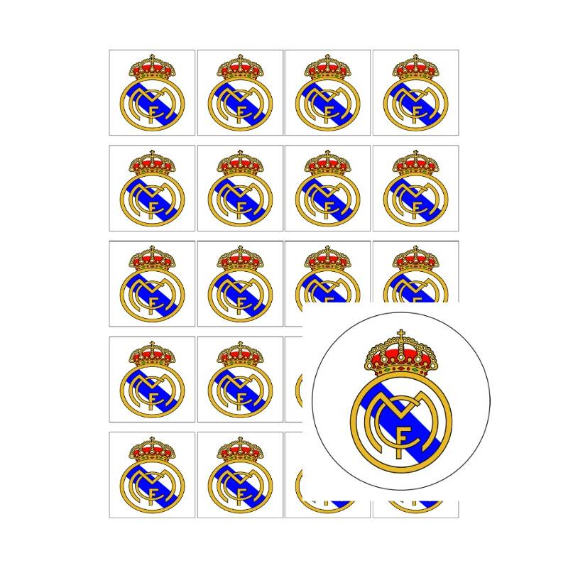 Comprar Escudo Real Madrid - Impresiones en papel comestiblr online a295a3d9392ad
