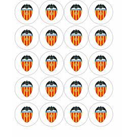Escudo de Valencia FC - Impresiones en papel comestible