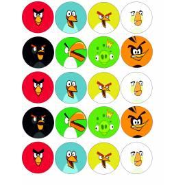Angry Birds - Impresiones en papel comestible