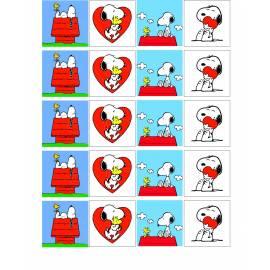 Snoopy - Impresiones en papel comestible