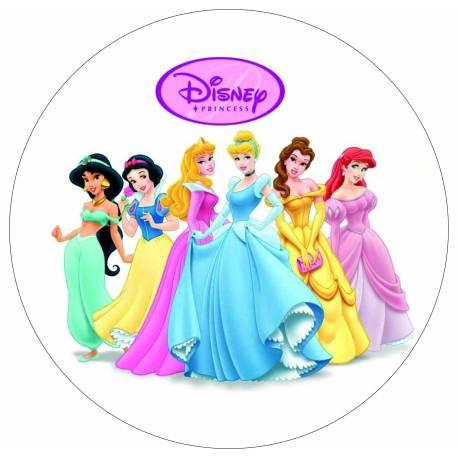 Princesas para tarta - Impresiones en papel comestible